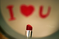 I  U [EXPLORED] (Russian.) Tags: red love you u luv    i