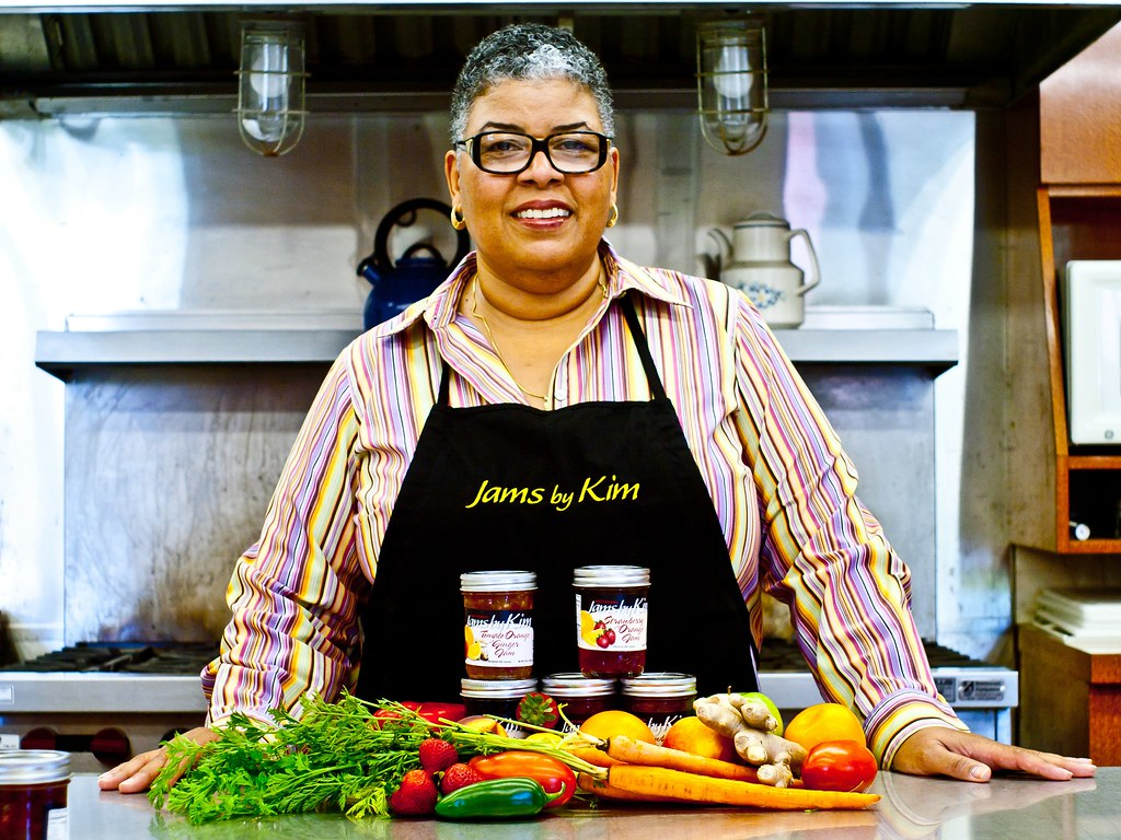 Though a food business necessity, a commercial kitchen can be hard to find. Only after a long search did Jams by Kim founder Kim Osterhoudt spot one that suited her.