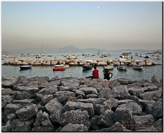 Waiting for the Moon (krisdecurtis) Tags: sea sky italy panorama moon seascape love canon spectacular landscape volcano rocks italia 300d cityscape campania canon300d dream boyfriends luna lovers kris napoli naples vesuvius nightview reef vesuvio rocce paesaggio vulcano 2010 scogliera marvels mergellina maddaloni innamorati napule fidanzati meraviglie viacaracciolo krisdecurtis caracciolostreet mygearandmepremium mygearandmebronze mygearandmesilver mygearandmegold mygearandmeplatinum mygearandmediamond dblringexcellence tplringexcellence