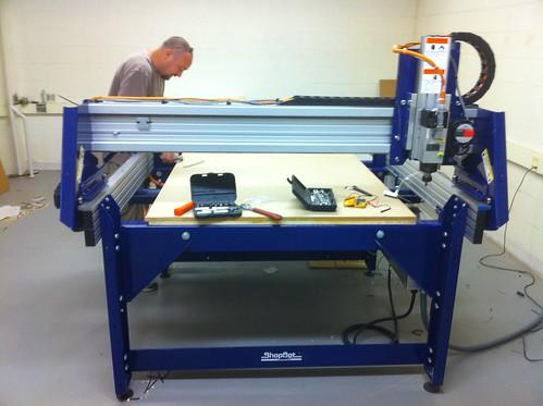 CNC setup