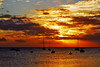 Another day is done... (jendayee) Tags: sunset red sea sun boats island martinique burning caribbean coulds blueribbonwinner photographyrocks justclouds horamagica bestcapturesaoi newgoldenseal