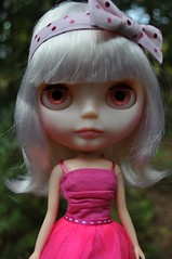Peat got a Haircut (Lawdeda ) Tags: fun factory with know many have peat dont even blythe how had custom platinum repeat hairs tutus rbl msrs i lawdeda