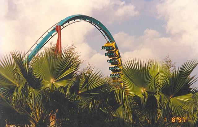 "Busch Gardens - ""Montu"" Roller Coaster"