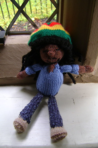First attempt at a knitted Bob Marley