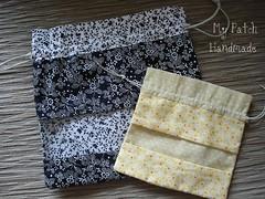 Saquinhos de tecido (Letcia B F) Tags: saquinhos