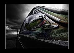 Looking back.. (jetbluestone) Tags: old light cortina car rain reflections drops paint multicoloured motor hdraward