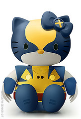 Hello Kitty x-men