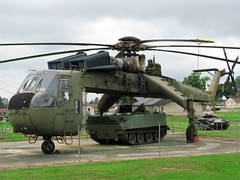 Sikorsky CH-54 Tarhe - by Roger Smith