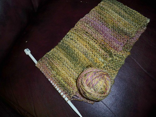 Simple Garter Stitch Scarf