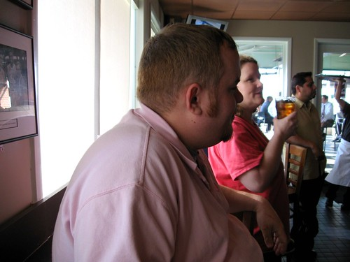 Michael & Sharon Having Drinks at the Top of the Hill Restaurant http://flic.kr/p/8wvmhb