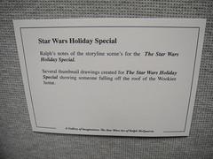 Star Wars Celebration V - Art of Ralph McQuarrie - Star Wars Holiday Special art info (Doug Kline) Tags: art starwars orlando gallery florida 5 celebration v convention fl script ralphmcquarrie holidayspecial