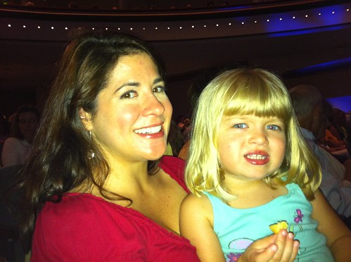 Tracy & Catie at Mary Poppins