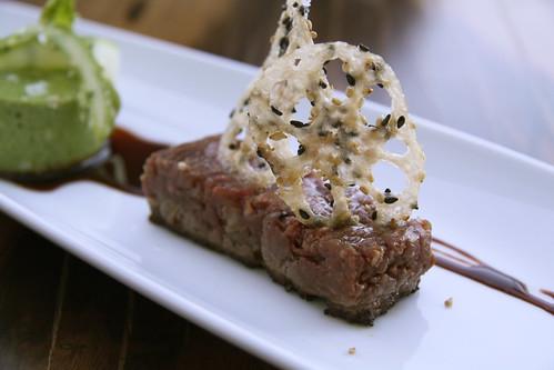 Napa Morimoto - beef tartare