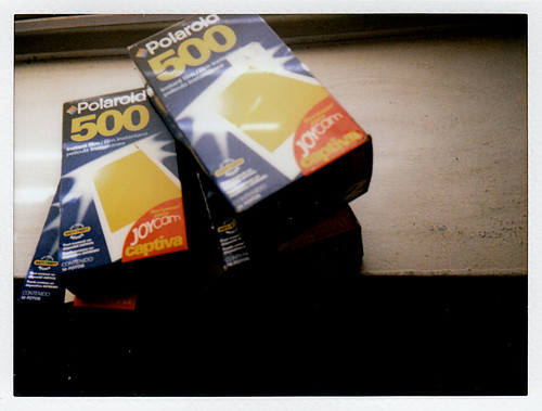 Polaroid Type 500 Instant Film