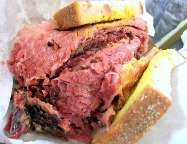 Schwartz's Famous Smoke Meat Sandwich
