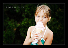 Ice Cream! (Lorrie Jane Photography) Tags: summer portrait sky people food cold cute ice girl beautiful smile face childhood female dessert fun outdoors happy person one frozen kid yummy holding day child candy little sweet cone eating chocolate young cream happiness tasty delicious eat enjoy icecream snack swirl treat taste product facial enjoyment refreshment caucasian