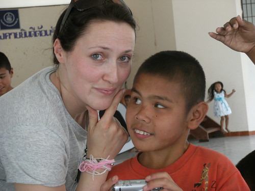 Amy Fry 2008 Mundo Exchange volunteer and continuous virtual volunteer