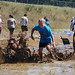 "Splash in ""The Swamp"" at Barbara Cook Run/Ride/Walk and Mud Run for Cancer at NJMP"