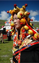4803370477568516855 (BetterWorld2010) Tags: tibetans coral festival gold amber necklace beads costume treasure dress jewelry tibet ring celebration bracelet amdo kham sichuan traditionalcostume 2009 litang headdress robes yushu 服饰 tibetanwoman 玉树 理塘 藏族 khampa golok lithang tibetangirl tribalcostume tibetanfestival 康巴 tibetanwomen