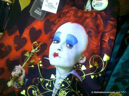 Johnny Depp and Helena Bonham Carter have worked together on some strange
