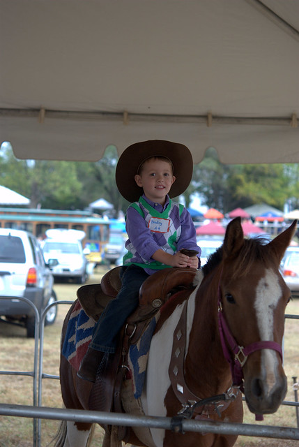 front cowboy