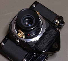 PENTAX67 remodeled to the Hassy mount.