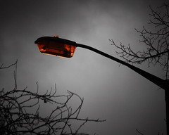 Winter lamppost (PGCarter) Tags: winter clouds dark streetlight moody gloomy streetlamp lamppost winterlight approachingstorm