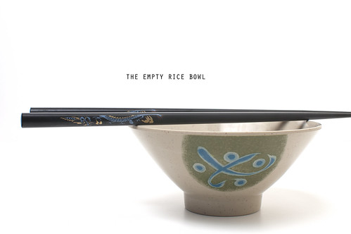 Day 32/365: The Empty Rice Bowl