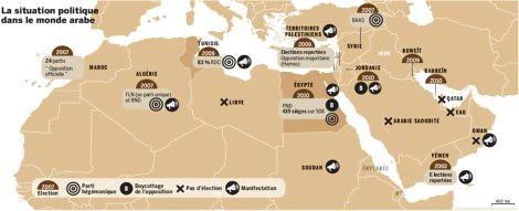 11a31 LMonde Situación política mundo árabe