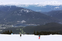 wonderful place - happy friday (yuanxizhou) Tags: scenery amazing wonderful view awesome tourist landscape olympic village town wilderness britishcolumbia whistler mountain sky snow