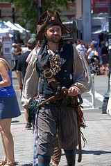Pirate (swong95765) Tags: costume man pirate hat scabbard outfit guy apparel