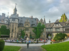 Reception at Rauischholzhausen (A. Yousuf Kurniawan) Tags: reception hdr castle germany hessen people culture heritage oldbuilding summer