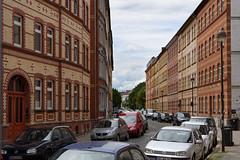 Altbau-Wohnungen (grapfapan) Tags: wohngebiet altbau ziegel klinker germany thüringen erfurt