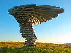 The Singing Ringing Tree, Crown Point, Burnley, Lancashire (SD 851289) [HDR Toning Applied] (Pigalle) Tags: uk unitedkingdom gb greatbritain britain england lanacashire burnley pennine crownpoint singingringingtree singingringing singing ringing tree viewpoint panopticon wind powered sound sculpture miketonkin annaliu tonkin creativecommons attributionnoncommercialsharealike ccbyncsa liu sd sd8529 851289 sd851289 8528 hdr highdynamicrange hdri