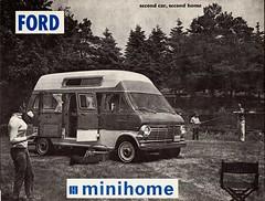 1970 Ford Minihome (aldenjewell) Tags: 1970 ford minihome super econoline motorhome conversion motor home inc irwindale ca lorain oh gaucho dinette hideabed rear display van flip brochure