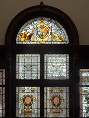 Stained Glass at the NLI (sharon.corbet) Tags: dublin nli nationallibraryofireland stainedglass
