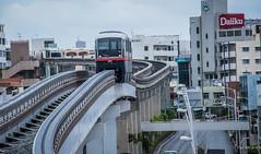 2017 - Japan - Naha Okinawa - Monorail - 20 of 21 (Ted's photos - For Me & You) Tags: 2017 japan nikon nikond750 nikonfx naha tedmcgrath tedsphotos vignetting cropped nahajapan okinawa monorail nahamonorail yuirail nahayuirail yuirailnaha train guideway daiiku