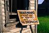 Warning (Sask Explorer) Tags: warning trespassing saskatchewan saskexplorer abandoned saskurbanex rural rur ruralexploration ruralfire saskruralexploration