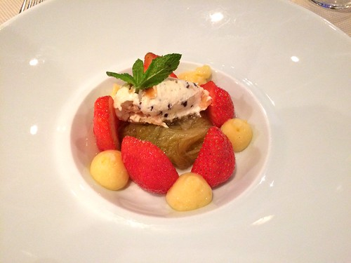 Fraises/rhubarbe