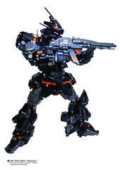 "AMS JE06 JEBAT ""Pahlawan""  - Ready to strike it's enemy (Benjamin Cheh) Tags: mecha afol lego"