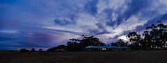 Blue Hour (Anthony Kernich Photo) Tags: adelaide southaustralia sa australia freeling sunset bluehour cloud sky blue landscape panorama panoramic pano photo photography scene image view house dwelling building olympusem10 olympus olympusomd silhouette photogenic microfourthirds color colour vibrant