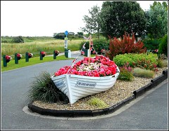 The Good Ship Lollipop .. (** Janets Photos **) Tags: uk lincolnshire oldboats flowerbeds seaside cleethorpes
