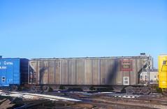 CB&Q Class LO-5 86183 (Chuck Zeiler) Tags: cbq class lo5 86183 burlington railroad covered hopper freight car chicago train chuckzeiler chz altonjunction