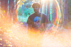 Hi everyone, it's me! (mikhailkorzhalov) Tags: canon manual manualfocus manuallenses vintagelenses russianlens 58mm helios helios44m6 flare flares halo rainbowhalo day tree trees nature naturallight forest portrait selfportrait outdoors skull skulls creative experiment experimental sunset sun sunburst leaves man light lights