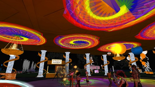SL7B party in second life
