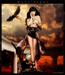 Katy Perry - Goddess (Daniel Suarez) Tags: california dog love gold katy goddess gurls perry snoop futuristic