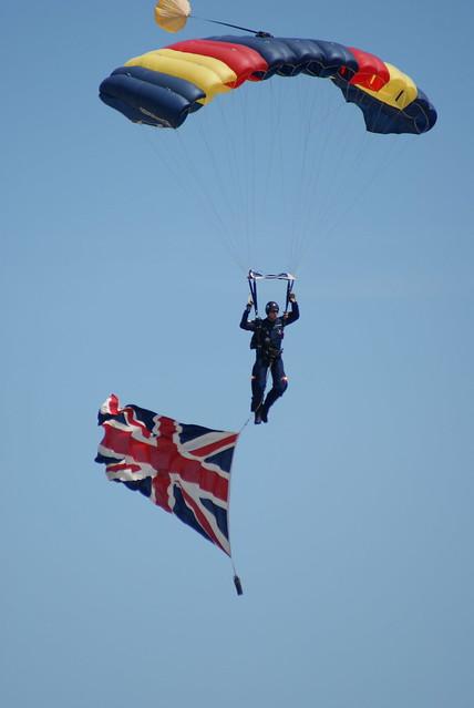 REME Parachute Display team