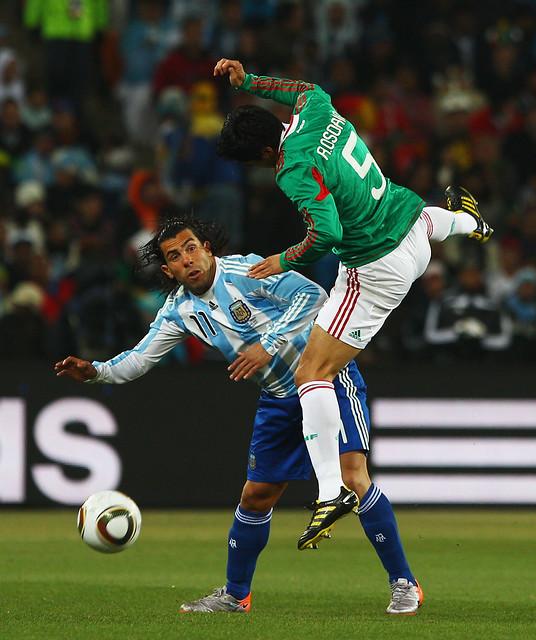 Ricardo Osorio Carlos Tévez Argentina México