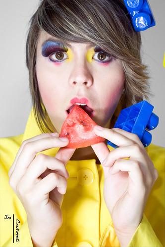 cosme makeup. cosme makeup. Model: Stephanie Photo by: Jo Cosme Hair by: Desiree Rodz