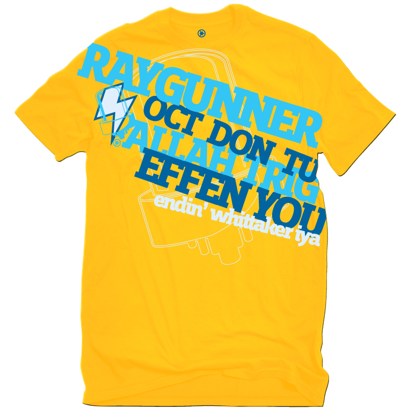 Raygunner T-Shirt Front